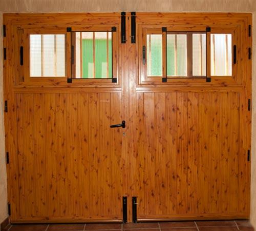 Puertas aluminio y pvc en albacete for Modelos de puertas de garaje